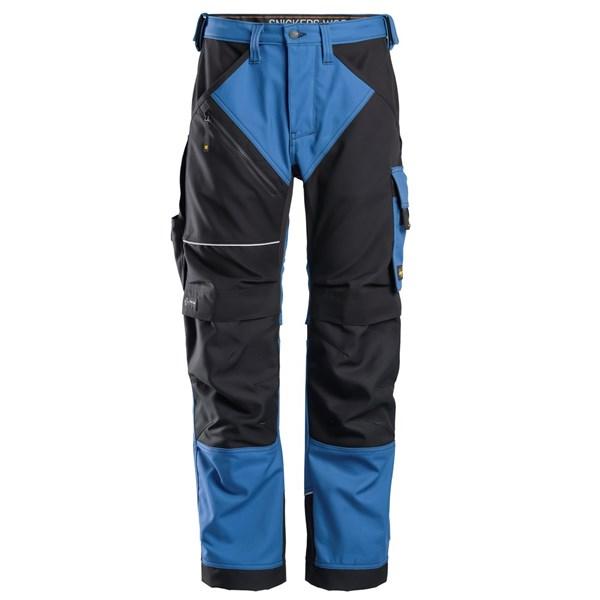 Blå Ruffwork bukse - Snickers Workwear 6314