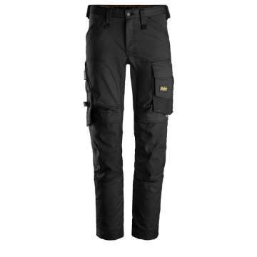 Svart stretch bukse - Snickers Workwear 6341