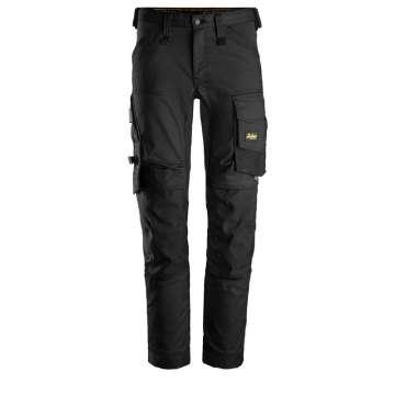 Svart stretch bukse - Snickers Workwear 6341