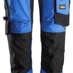 Blå stretch arbeidsbukse - Snickers Workwear 6341