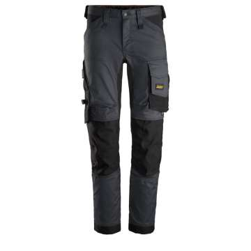 Stålgrå stretch bukse - Snickers Workwear 6341