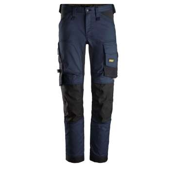Marineblå stretch arbeidsbukse - Snickers Workwear 6341