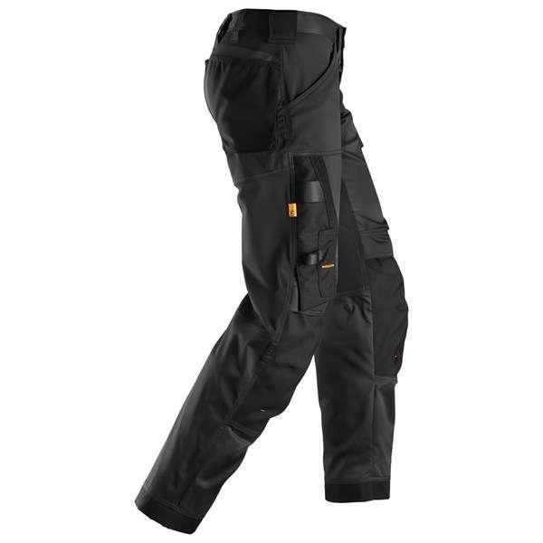 Svart stretch bukse - Snickers Workwear 6351