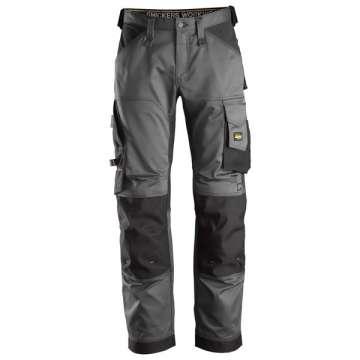 Stålgrå stretch bukse - Snickers Workwear 6351