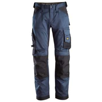 Marineblå stretch bukse - Snickers Workwear 6351