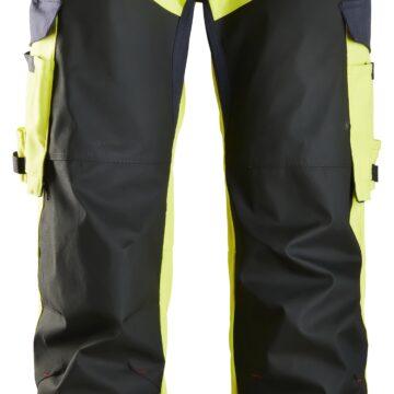 Slitesterk arbeidsbukse som beskytter mot varme, flammer og lysbuer.