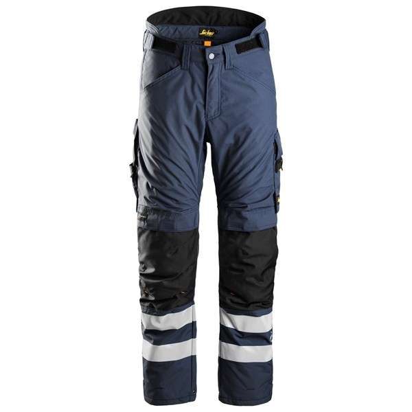 Marineblå vinterbukse 37.5® - Snickers Workwear 6619
