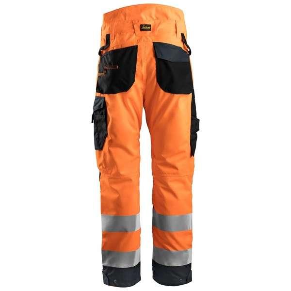 Orange High Vis vinterbukse 37.5® - Snickers Workwear 6639