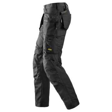 Svart Arbeidsbukse dame AllroundWork - Snickers Workwear 6701