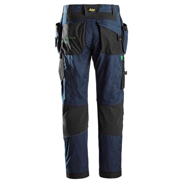 Marineblå arbeidsbukse med hylsterlommer 6902