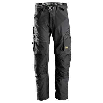 Svart Arbeidsbukse Flexiwork Snickers Workwear 6903