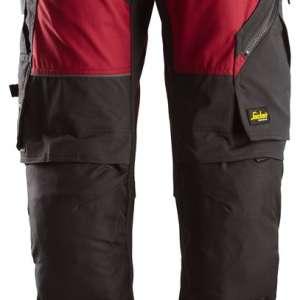 cf9f7086 6903_0404_Svart_Arbeidsbukse_Flexiwork_Snickers_Workwear_6903. Rød  Arbeidsbukse Flexiwork - Snickers Workwear 6903