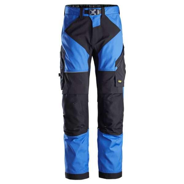 Blå Arbeidsbukse Flexiwork Snickers Workwear 6903