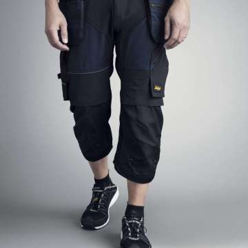 Svart piratbukse - Snickers Workwear 6905