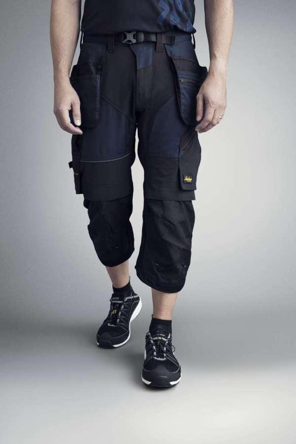Svart piratbukse - Snickers Workwear 6905