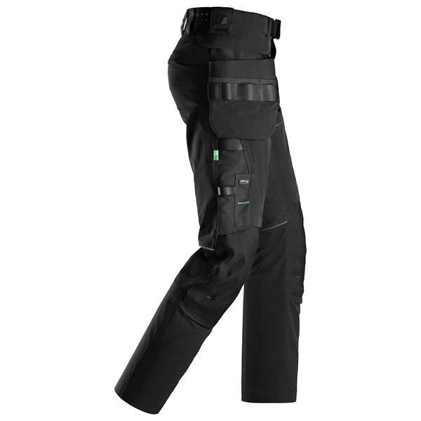 Svart ultimat stretchbukse - Snickers Workwear 6944