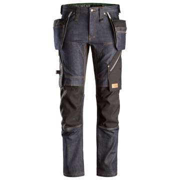 6955-6504-Ruffwork arbeidsbukse Denim - Snickers Workwear