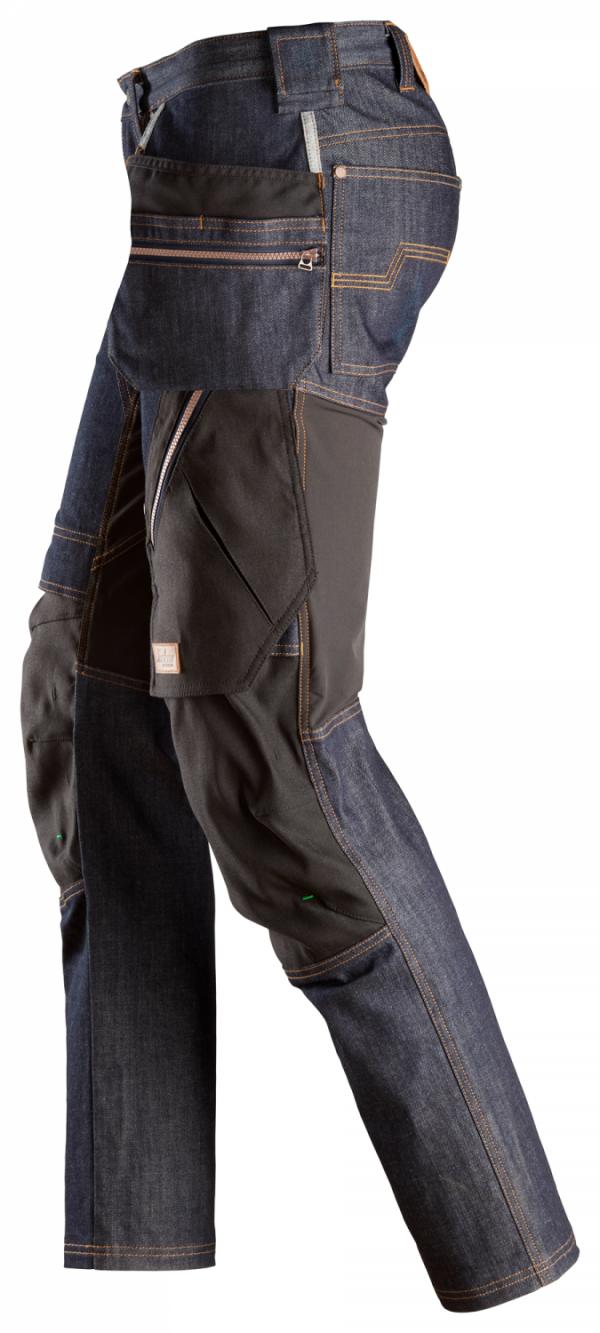 6955-6504-Ruffwork arbeidsbukse Denim - Snickers Workwear