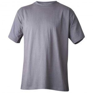 Grå t-skjorte - 100% bomull