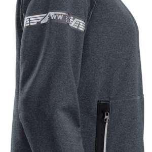 Stålgrå fleecejakke dame 37.5® - Snickers Workwear 8017