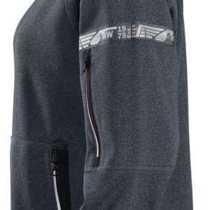 Stålgrå fleecejakke dame 37.5® - Snickers Workwear