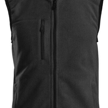 Bruk fleecevesten den under en jakke på kalde arbeidsdager eller utenpå en T-skjorte for ekstra komfort.
