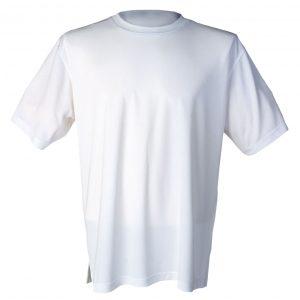 Hvit funksjons t-skjorte
