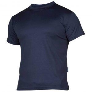 Marineblå funksjons t-skjorte
