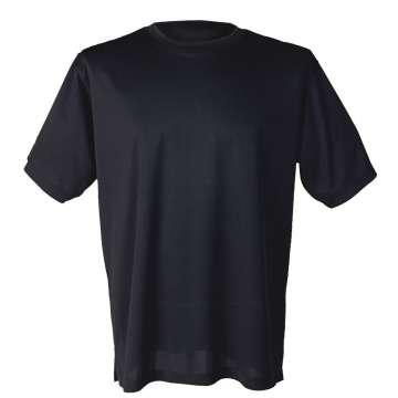 Svart og luftig t-skjorte