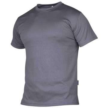 Grå og luftig t-skjorte