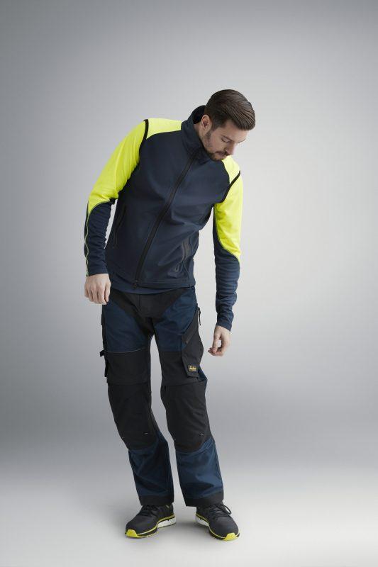 NEON vest i 4-veis stretchmateriale for herre