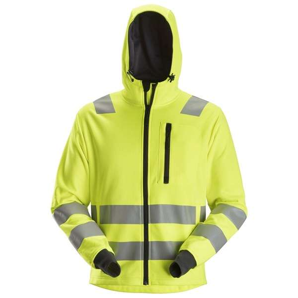 Gul High-Vis Hettejakke - Snickers Workwear 8039