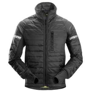 Svart vattert jakke 37.5 fra Snickers Workwear