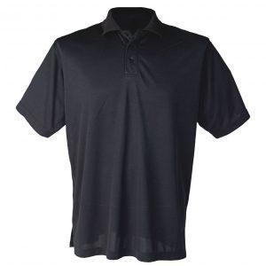 Svart pique t-skjorte
