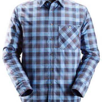 Varm og ekstremt komfortabel polstret flanellskjorte som også kan brukes som en jakke.