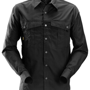 Skjorte - behagelig, lettstelt og slim fit. Produsert i mykt, rip-stop materiale.
