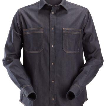 Denimskjorte med stretch som egner seg for daglig bruk og de fleste typer arbeid.
