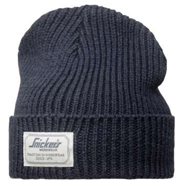 Fisherman Beanie lue - Snickers Workwear 9023