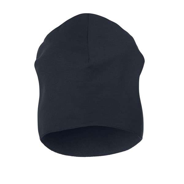 Marineblå Stretch fleece lue - Snickers Workwear 9024