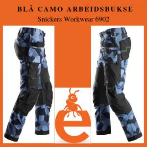 Arbeidsbukse Camo - Snickers Workwear 6902