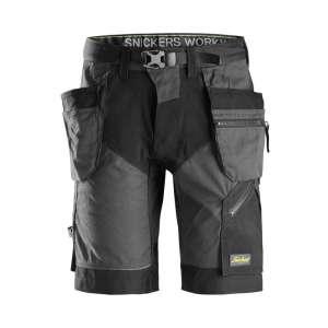 Grå shorts med hylsterlommer