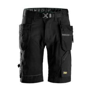 Svart shorts med hylsterlommer