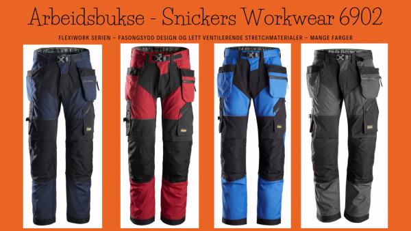 Arbeidsbukse - Snickers Workwear 6902