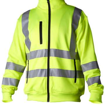 Gul jakke med refleks – klasse 3
