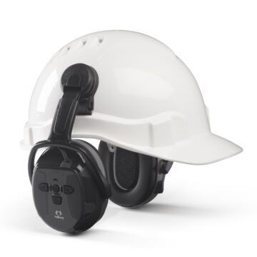 Hørselvern Xstream-LD med hjelmfeste