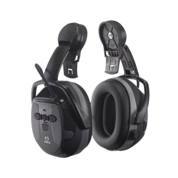 Hørselvern Xstream med hjelmfeste