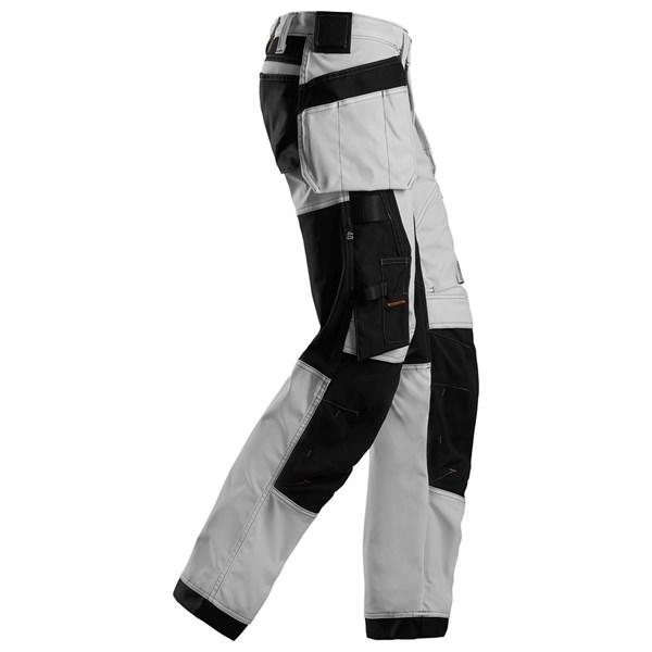 Hvit stretchbukse dame Snickers Workwear 6247 ~ god