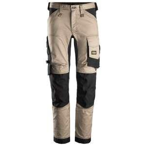 Khaki stretch arbeidsbukse - Snickers Workwear 6341
