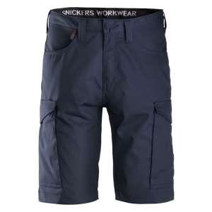 Marineblå service shorts Snickers Workwear 6100