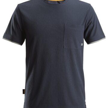 Marineblå 37.5® T-skjorte Snickers 2598